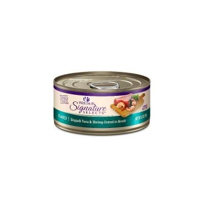 Wellness Signature 鰹魚蝦肉吞拿魚腩貓罐頭 2.8oz