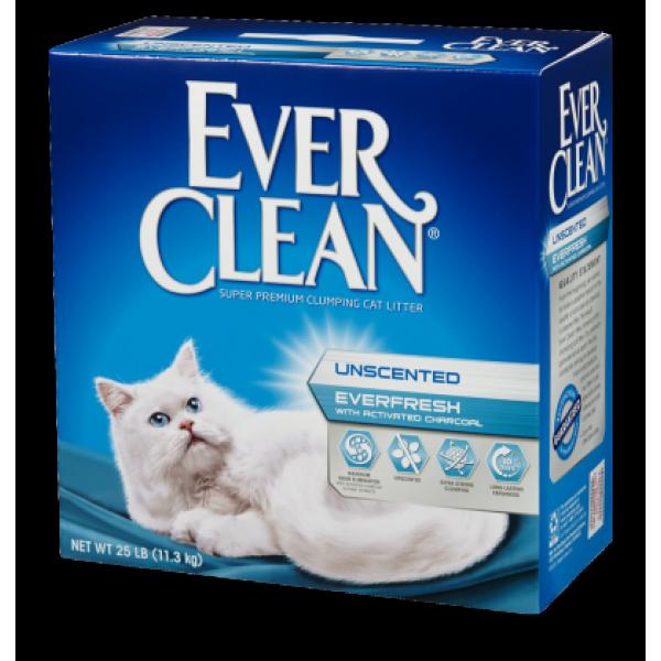 EverClean - 雙重活性碳低過敏結塊砂 - 25Lbs