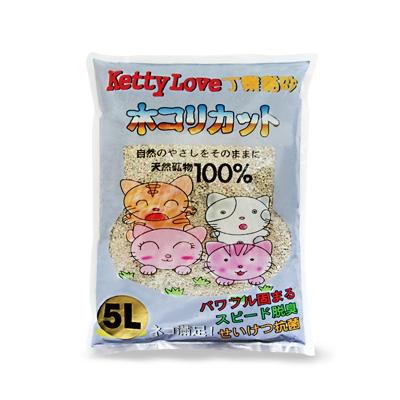 Kitty Love 灰袋高溫消毒白粗砂 - 5L
