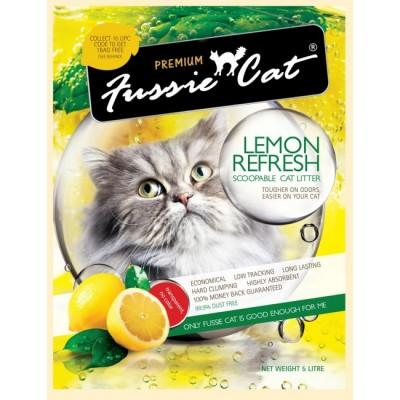 Fussie Cat - 檸檬貓砂 5L